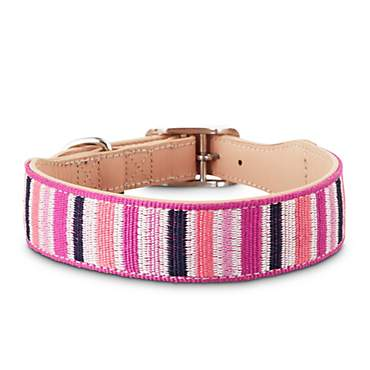 Bond & Co. Sorbet Striped Dog Collar