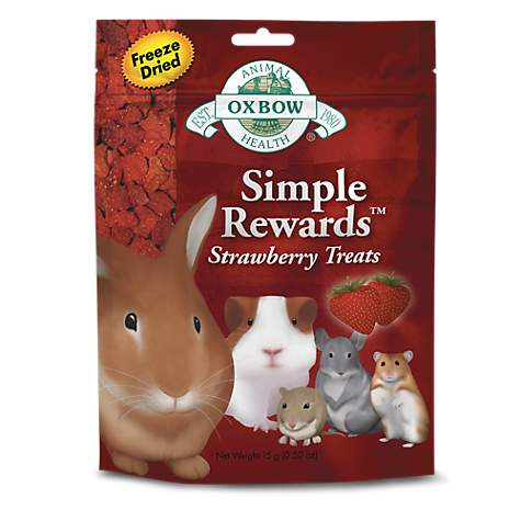 Oxbow Simple Rewards Strawberry Treat