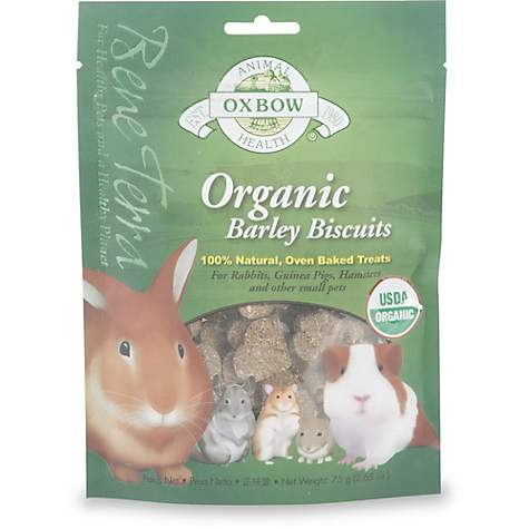 Oxbow Organic Barley Biscuit Baked Treat
