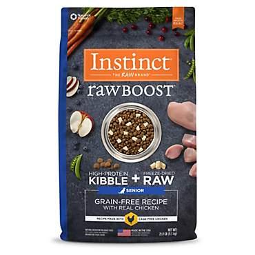 Instinct Raw Boost Senior Grain Free Recipe With Real Chicken