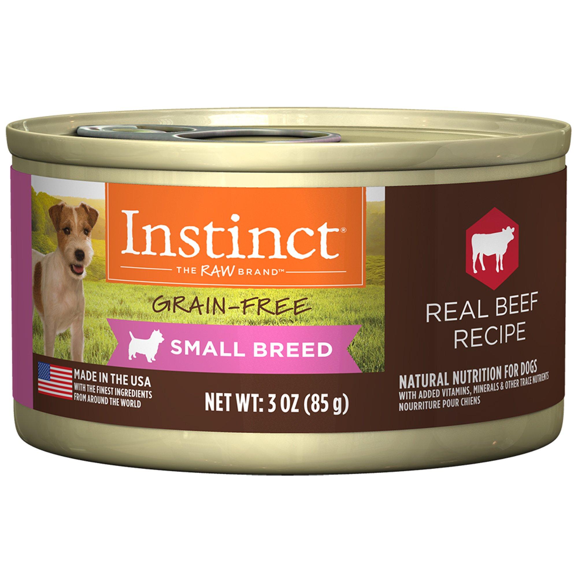 Petco Instinct Dog Food