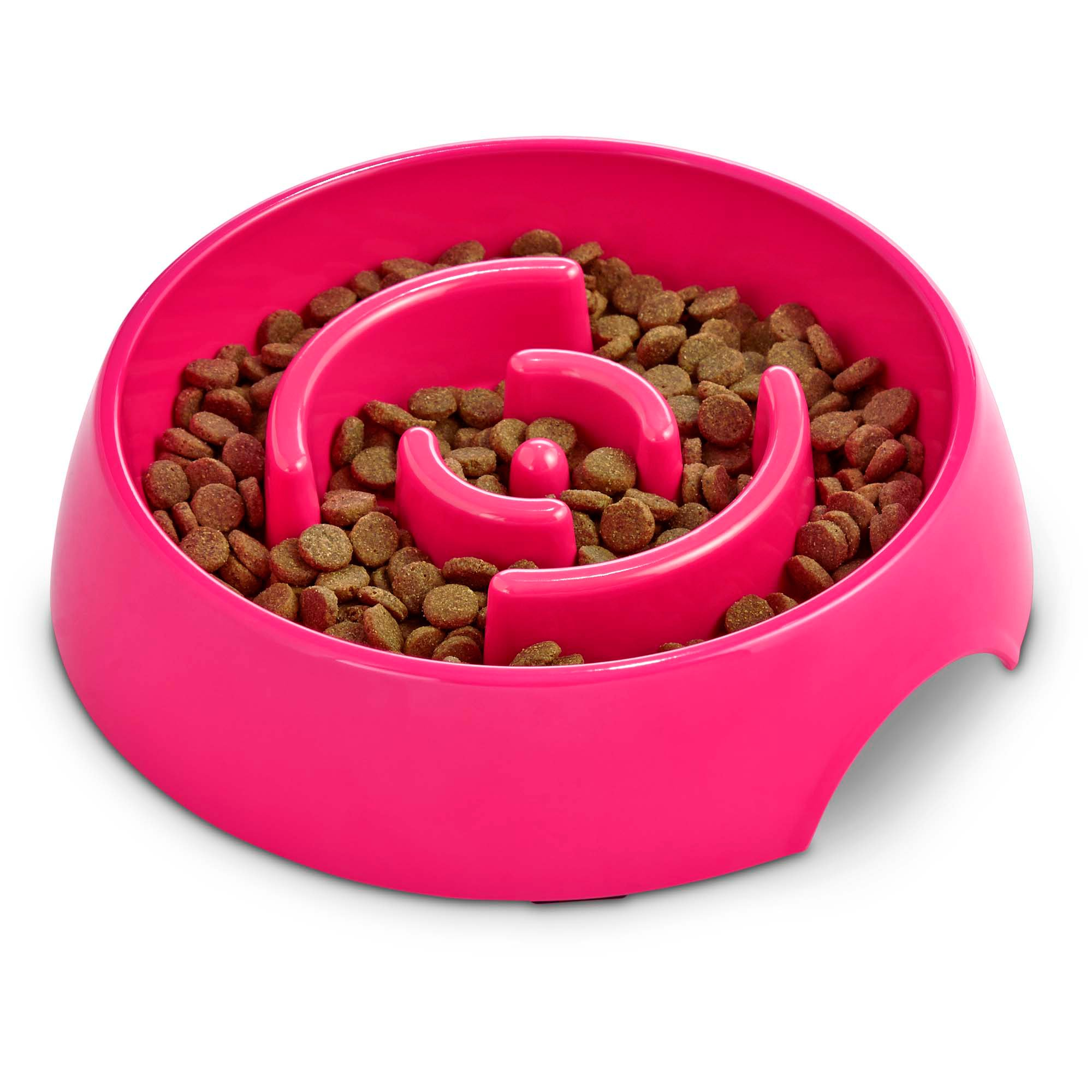 loving product feeding by open slow zoom up dogs stopper to for bowl pets gobble dog feeder video images in slows