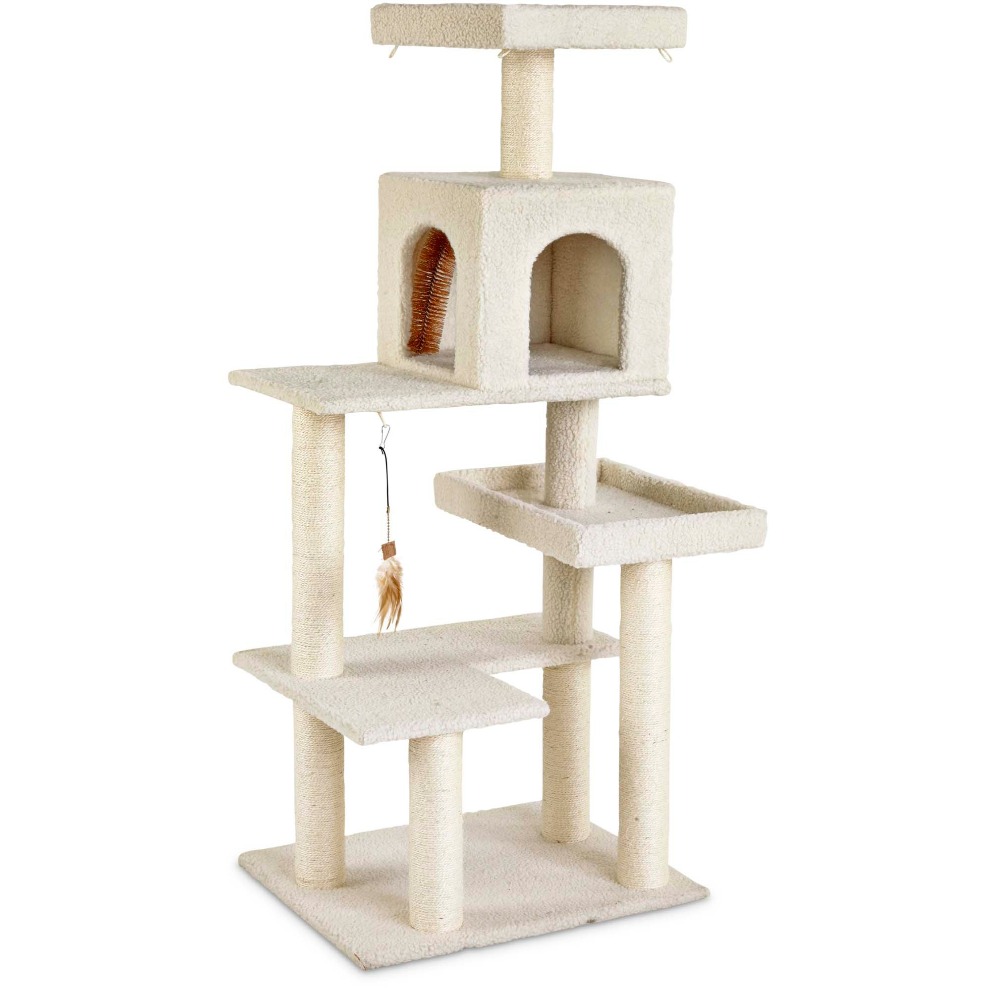 you  u0026 me 5 level cat tree cat trees towers  u0026 perches   petco  rh   petco