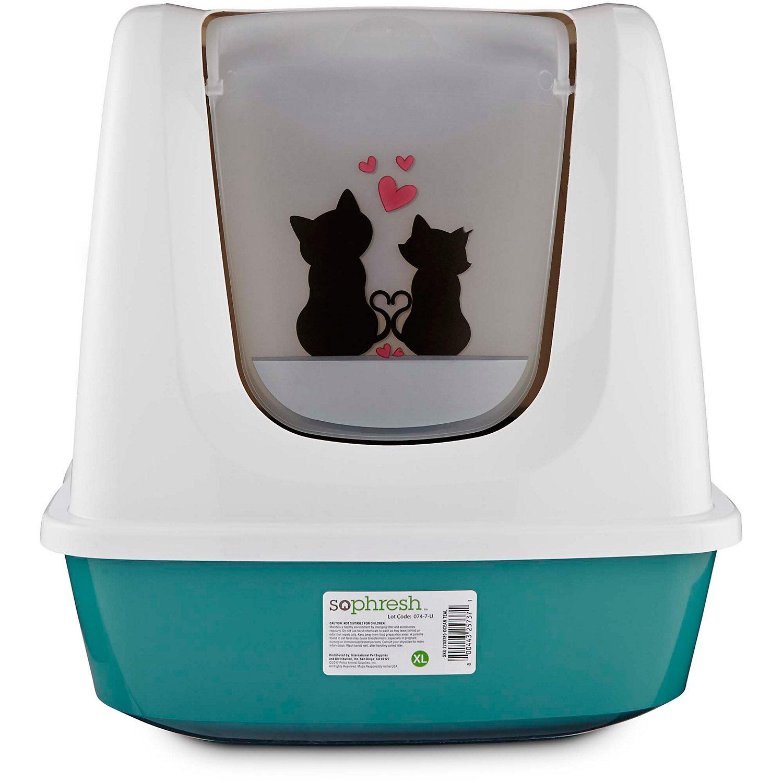 800443257418 UPC - So Phresh Cat Love Litter Box Privacy