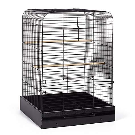Prevue Pet Products Madison Bird Cage Black Hammertone