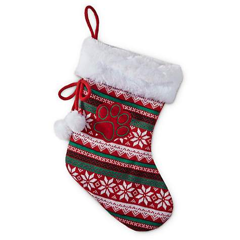 Time for Joy Fair Isle Holiday Pet Stocking | Petco