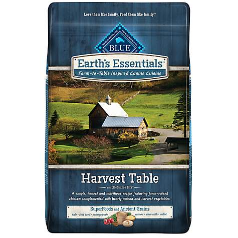 Blue Buffalo Earth's Essentials Adult Harvest Table Chicken & Quinoa Dry Dog Food