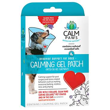 Calm Paws Dog Calming Gel Patch