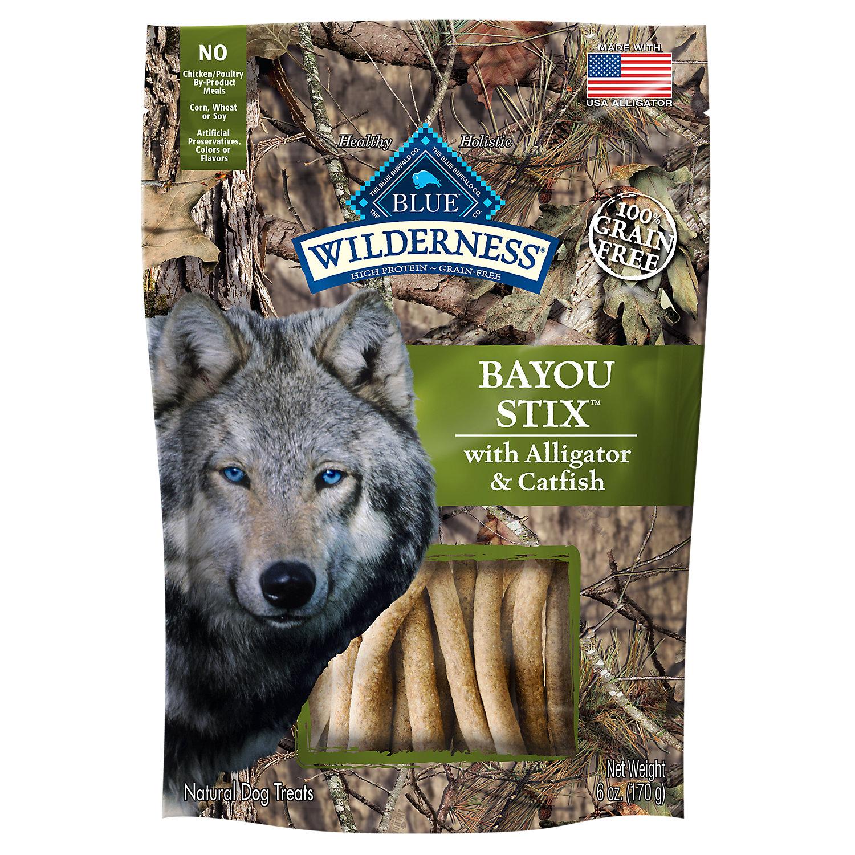 Blue Buffalo Bayou Stix Dog Treats 6 Oz.