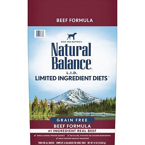 Lowest Price Natural Balance Lid Dog Food