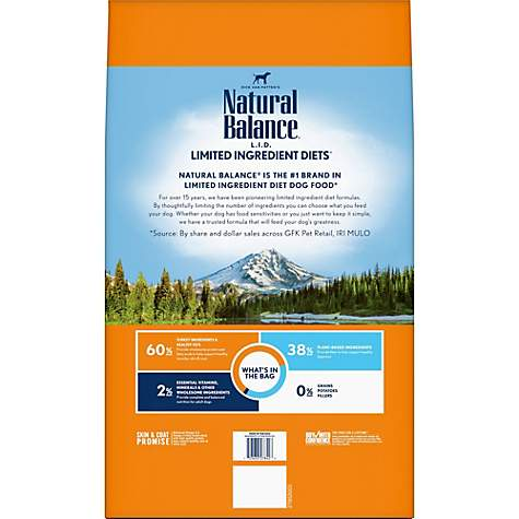 Natural Balance L I D Limited Ingredient Diets High Protein Turkey