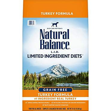 Natural Balance L.I.D. Limited Ingredient Diets High Protein Turkey Dog Food
