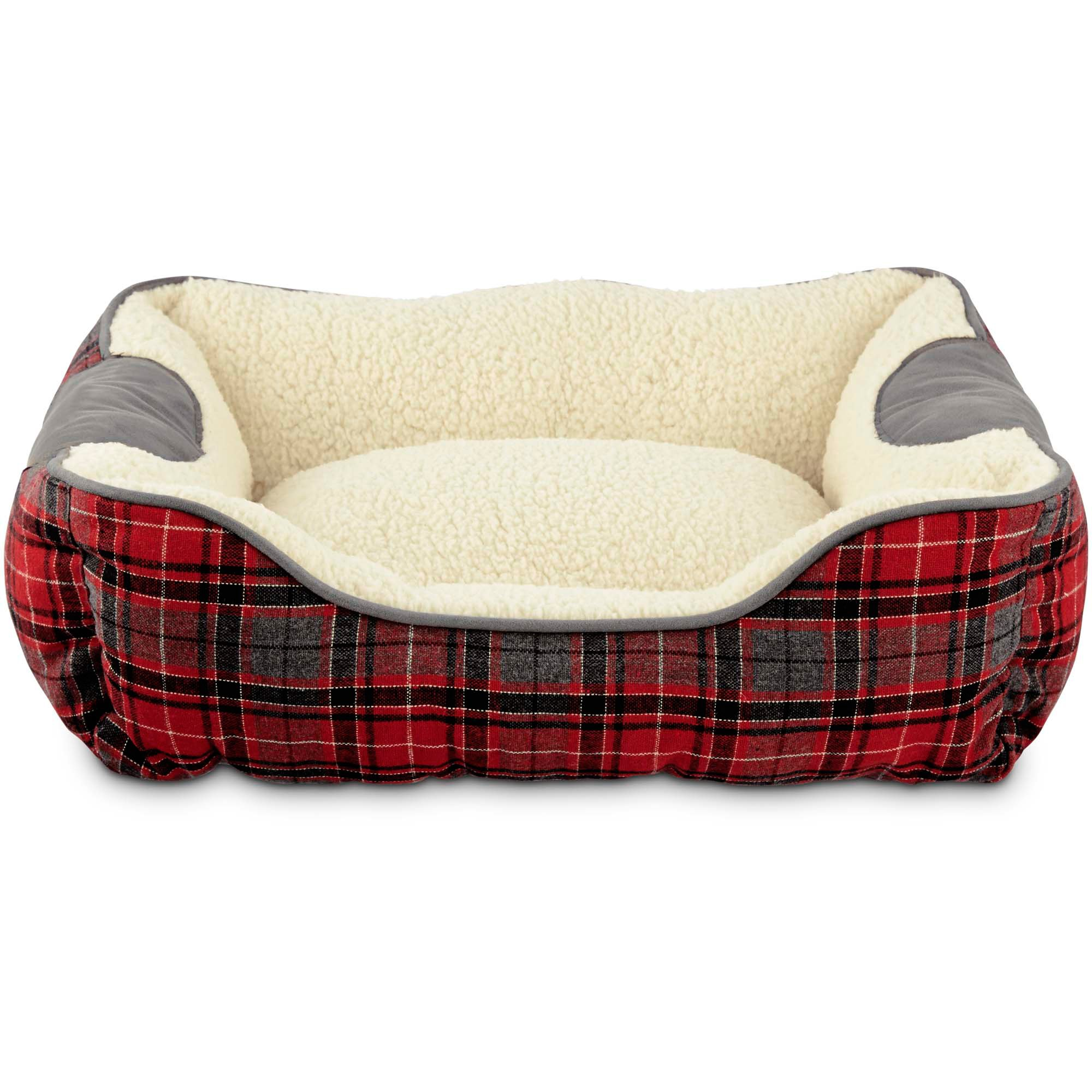 Heritage Collection Red and Black Plaid Nester Dog Bed. Dog Beds   Bedding  Best Large   Small Dog Beds on Sale   Petco