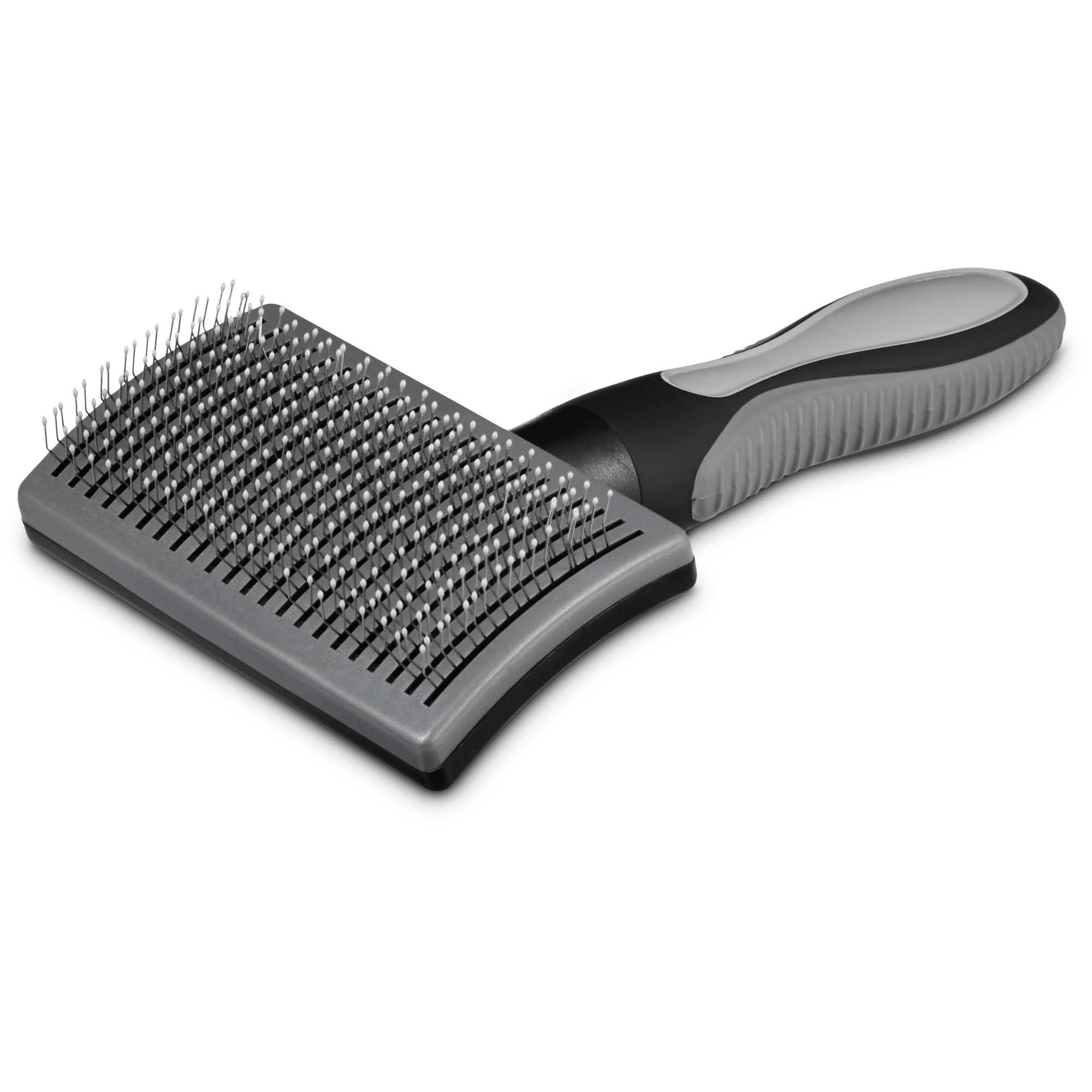 Well & Good Black Self-Cleaning Slicker Dog Brush   Petco