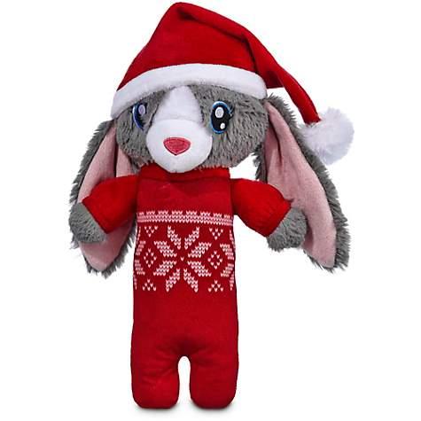 Time for Joy Fair Isle Snow Bunny Plush Dog Toy | Petco