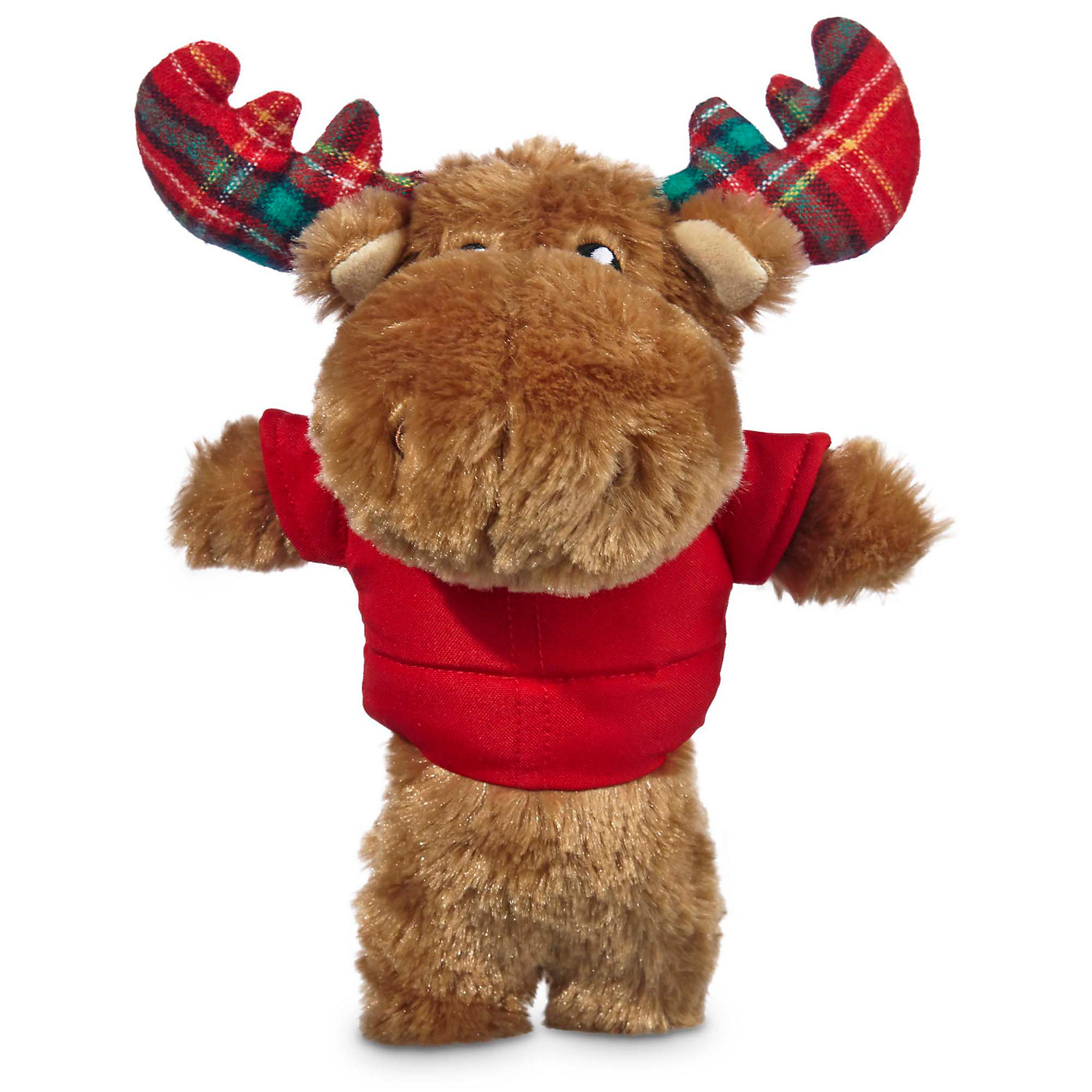 Time For Joy Bundled Up Moose Plush Dog Toy