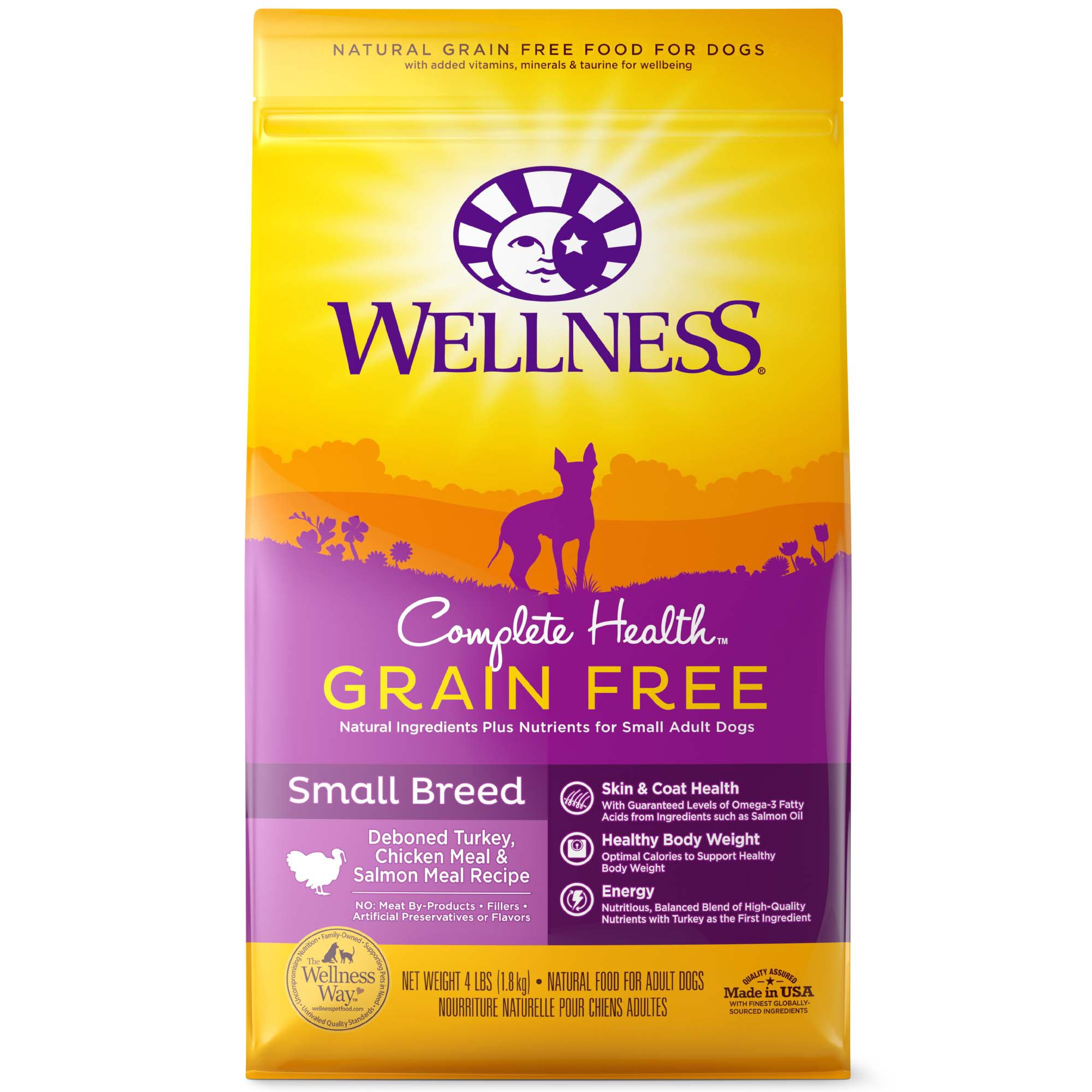 Wellness Complete Health Grain Free Small Breed Deboned