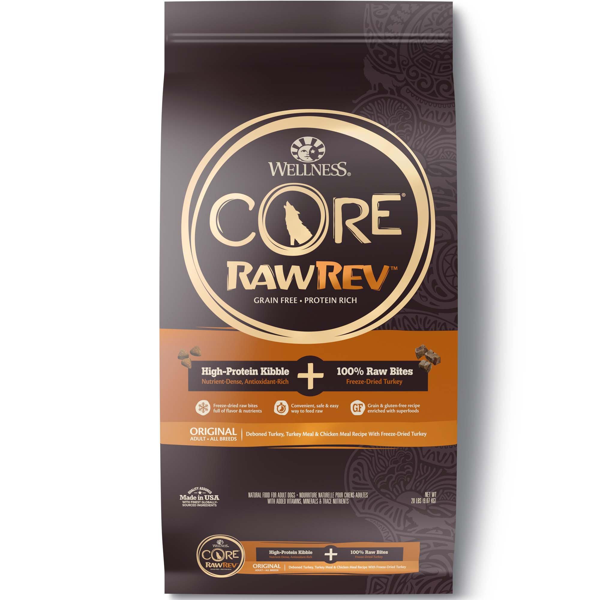 Wellness Core Rawrev Natural Grain Free Original Turkey