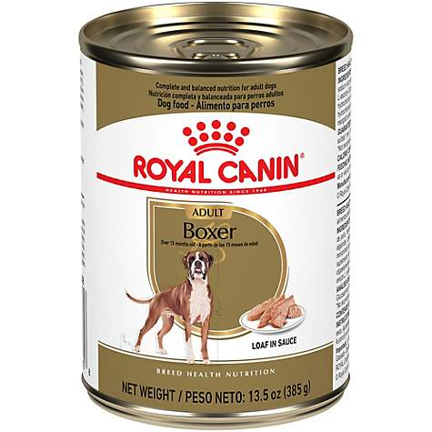 Royal Canin Breed Health Nutrition Boxer Loaf In Sauce Dog Food, 13 5 oz ,  Case of 12