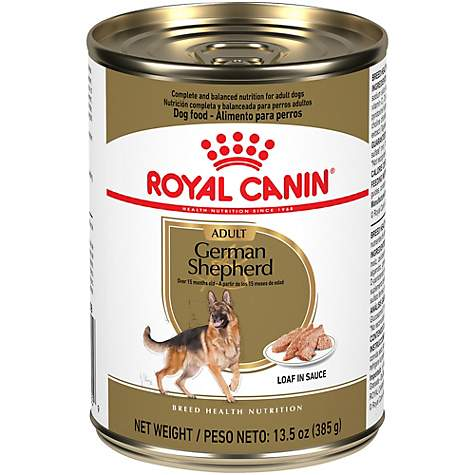 Royal Canin Breed Health Nutrition German Shepherd Loaf In Sauce Dog Food