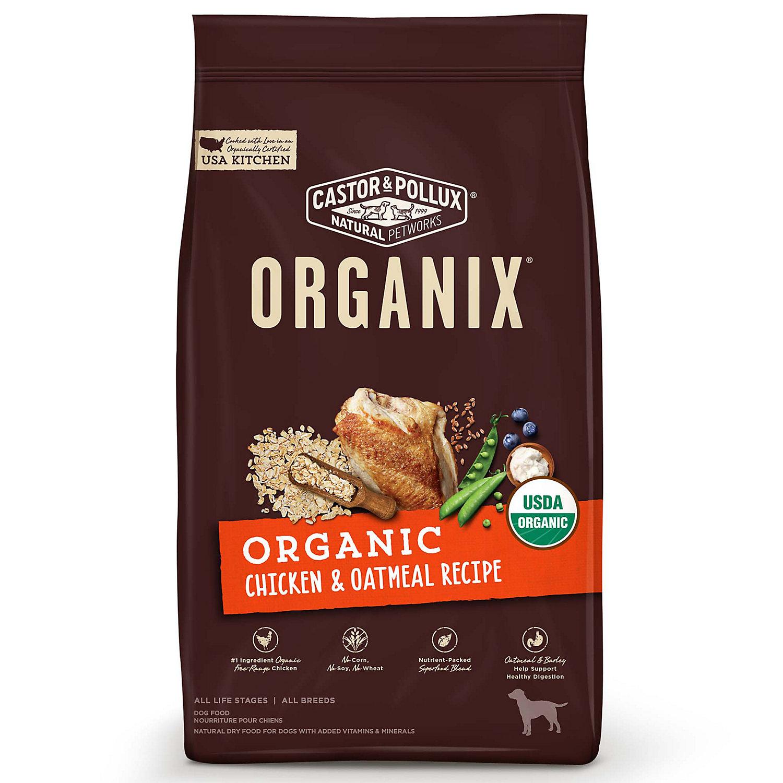 Image of Castor & Pollux Organix Organic Chicken & Oatmeal Recipe Dry Dog Food