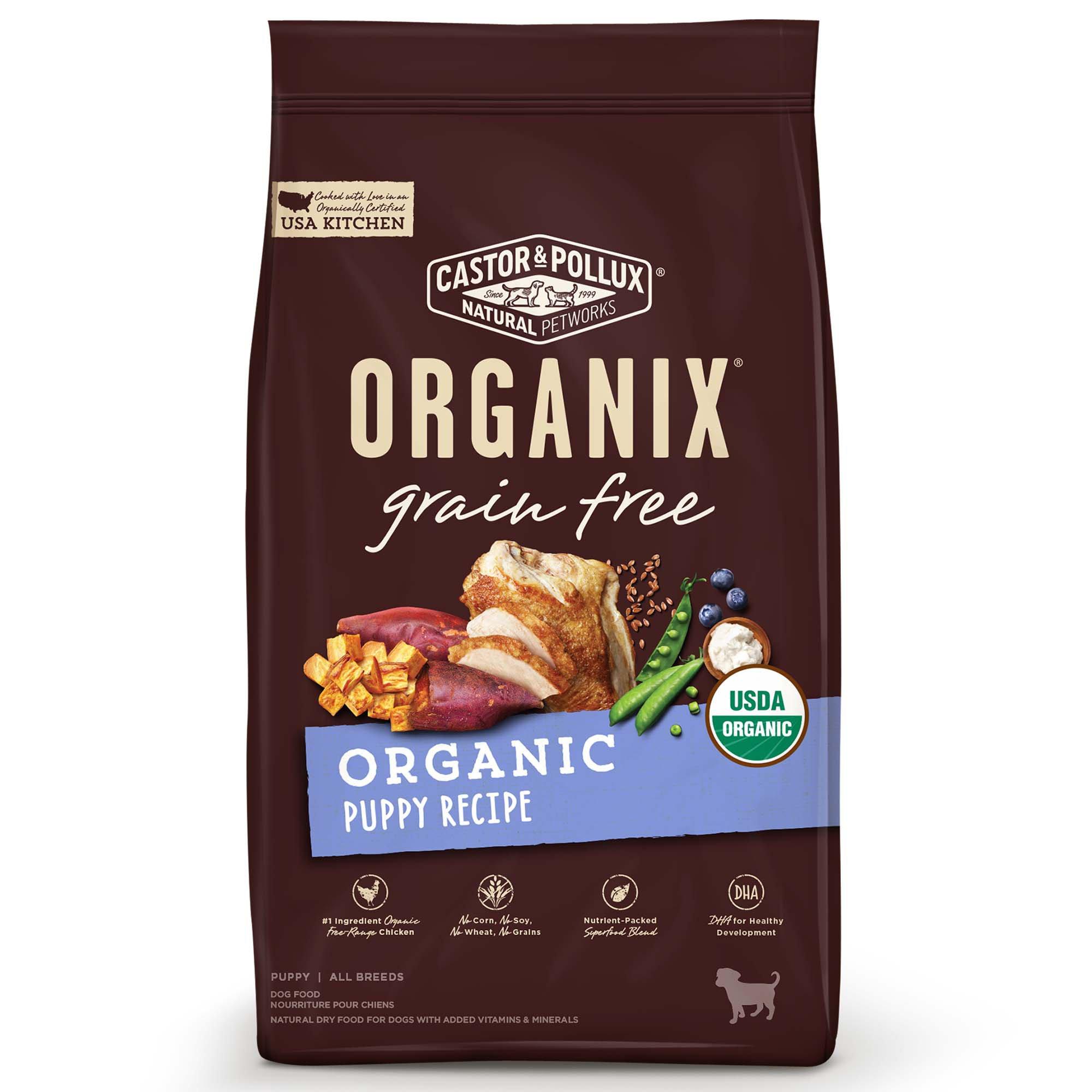 Castor Pollux Organix Grain Free Organic Senior Recipe Dry Dog