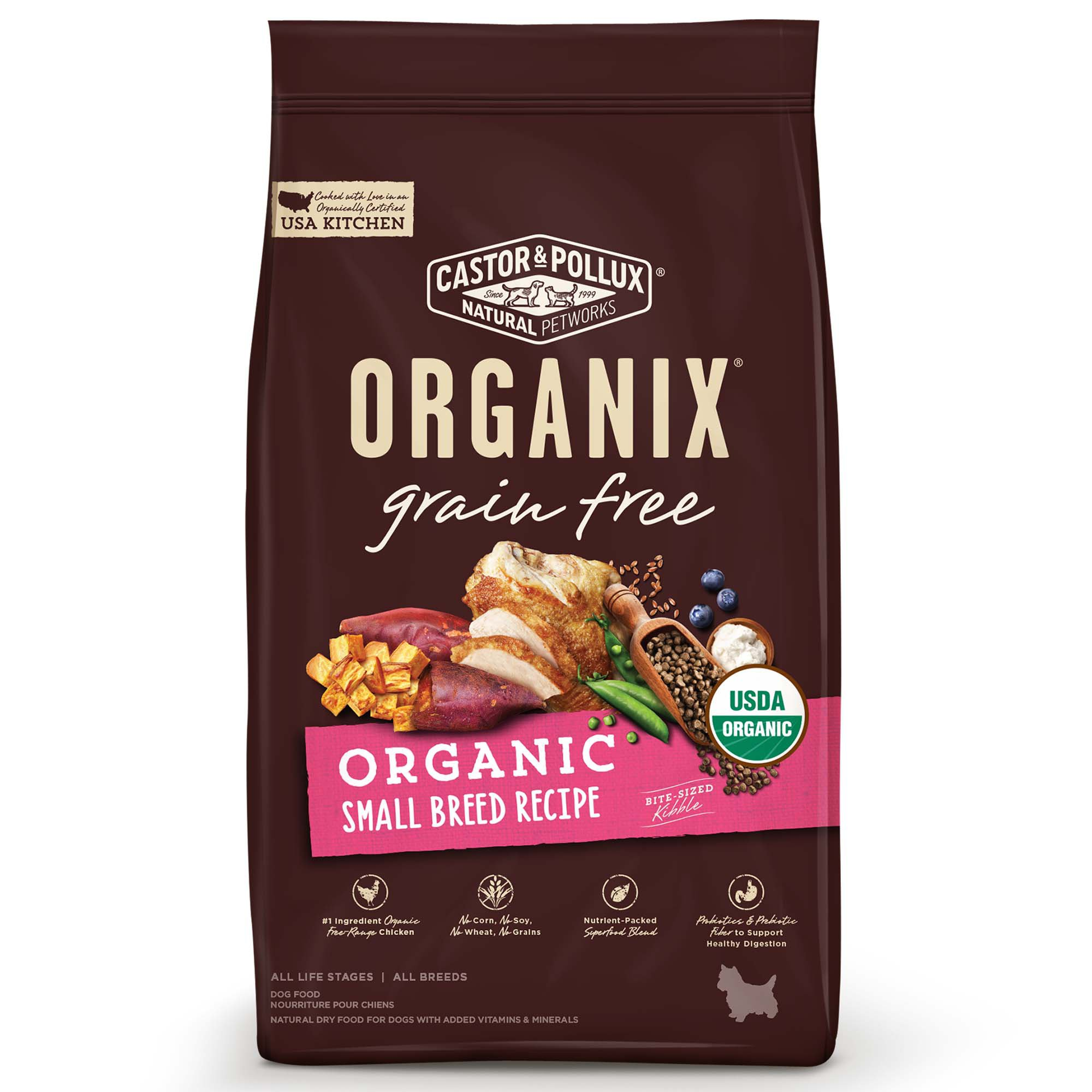 Castor And Pollux Organix Small Breed Dog Food