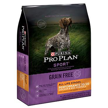 Purina Pro Plan Sport Grain-Free Performance 30/20 Chicken & Egg Formula Dry Dog Food