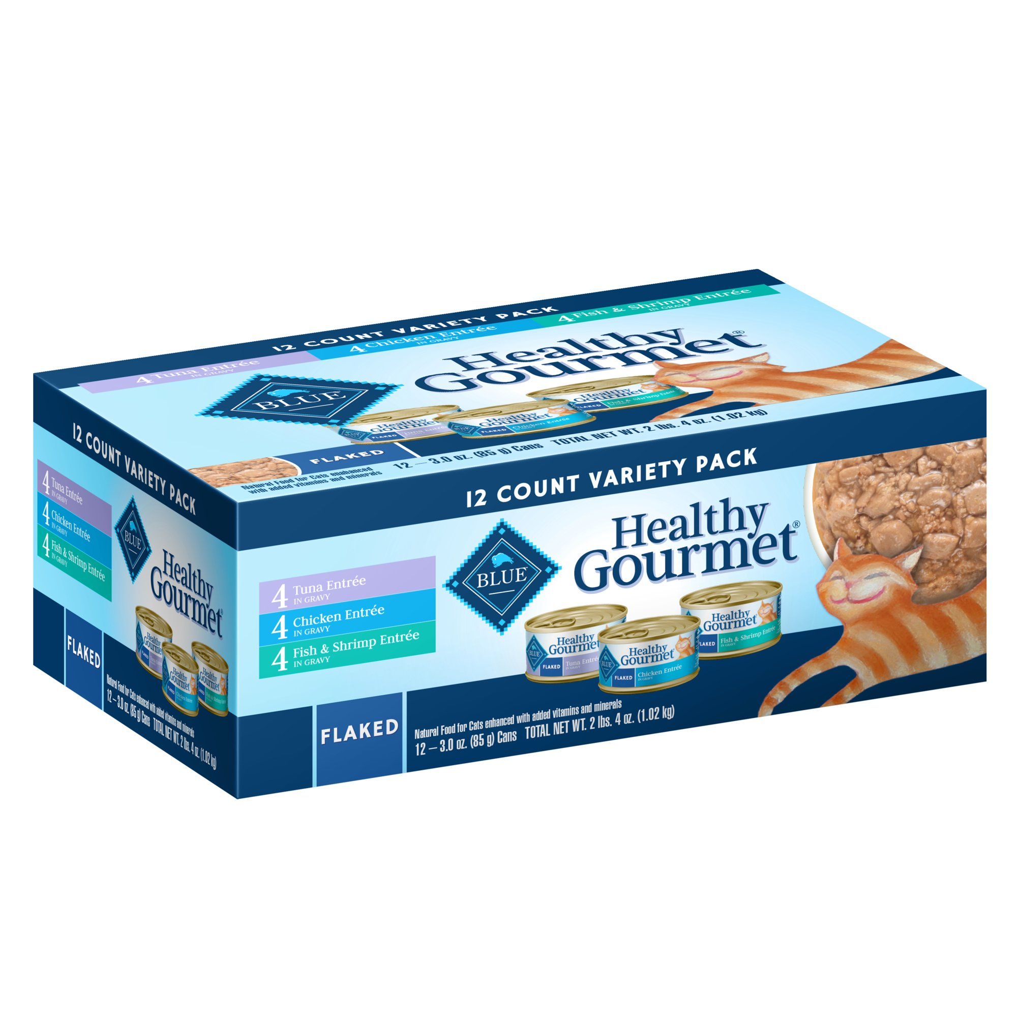 Blue Buffalo Blue Healthy Gourmet Adult Variety Pack Cat Food | Petco at Petco in Braselton, GA | Tuggl