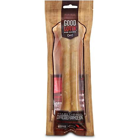 Good Lovin' Traditional Compressed Rawhide Bone Dog Chew