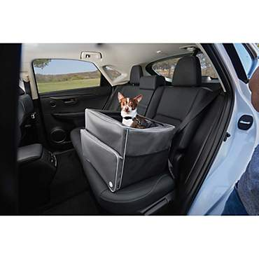 Good2Go Auto Booster Seat in Gray
