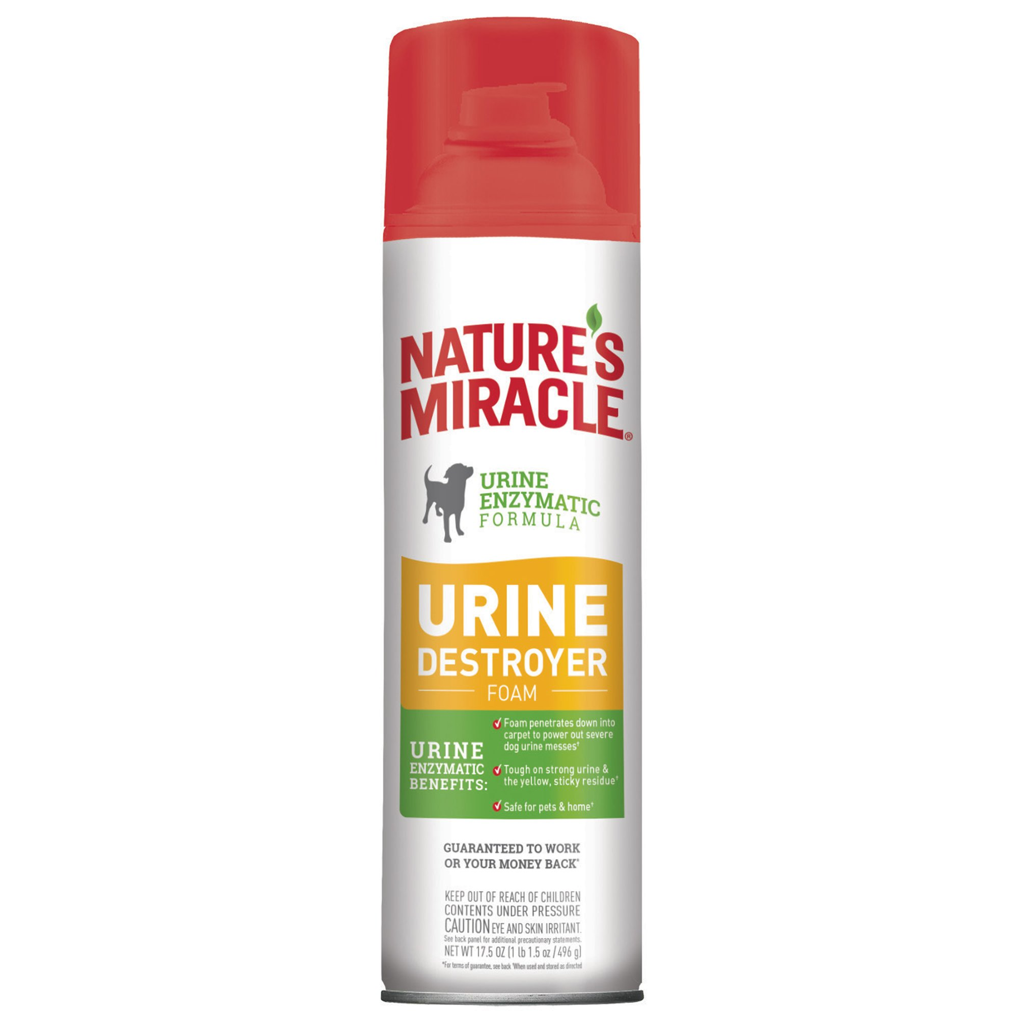 Nature 39 s miracle urine destroyer stain odor foam petco for Fish odor urine