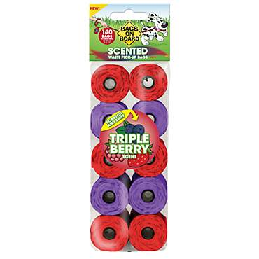 Bags on Board Triple Berry Scented Refill Bags