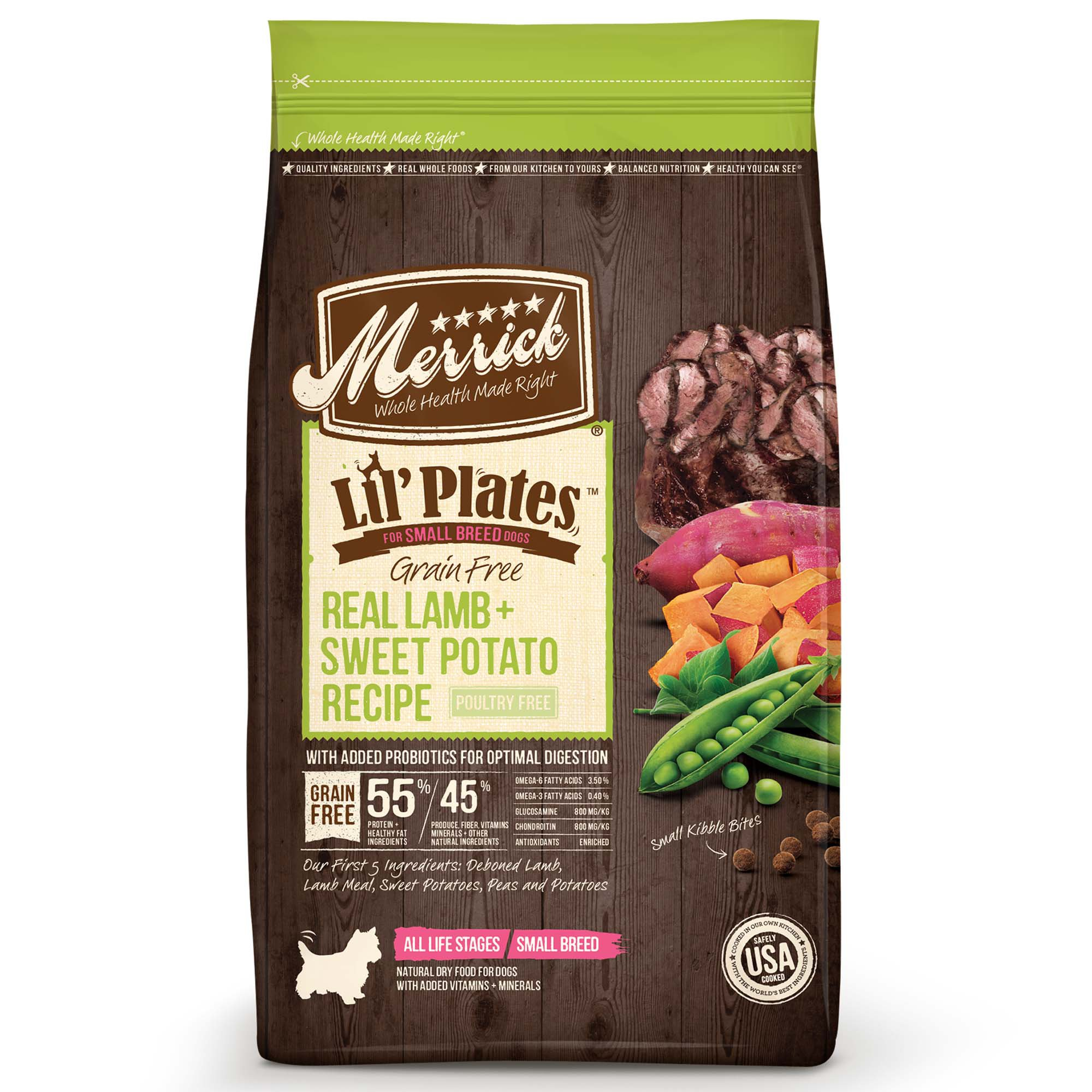 Potato Free Grain Free Small Breed Dog Food