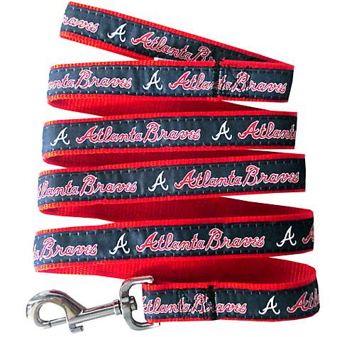 Pets First Atlanta Braves Leash