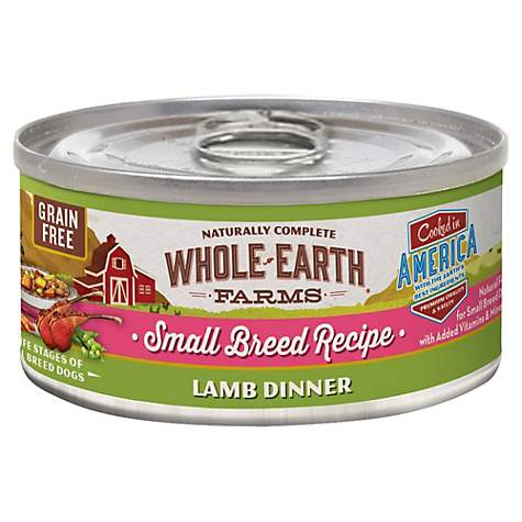 Whole earth farms grain free small breed lamb dinner canned dog food whole earth farms grain free small breed lamb dinner canned dog food forumfinder Images