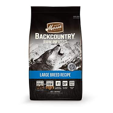 Merrick Backcountry Grain Free Large Breed Dry Dog Food