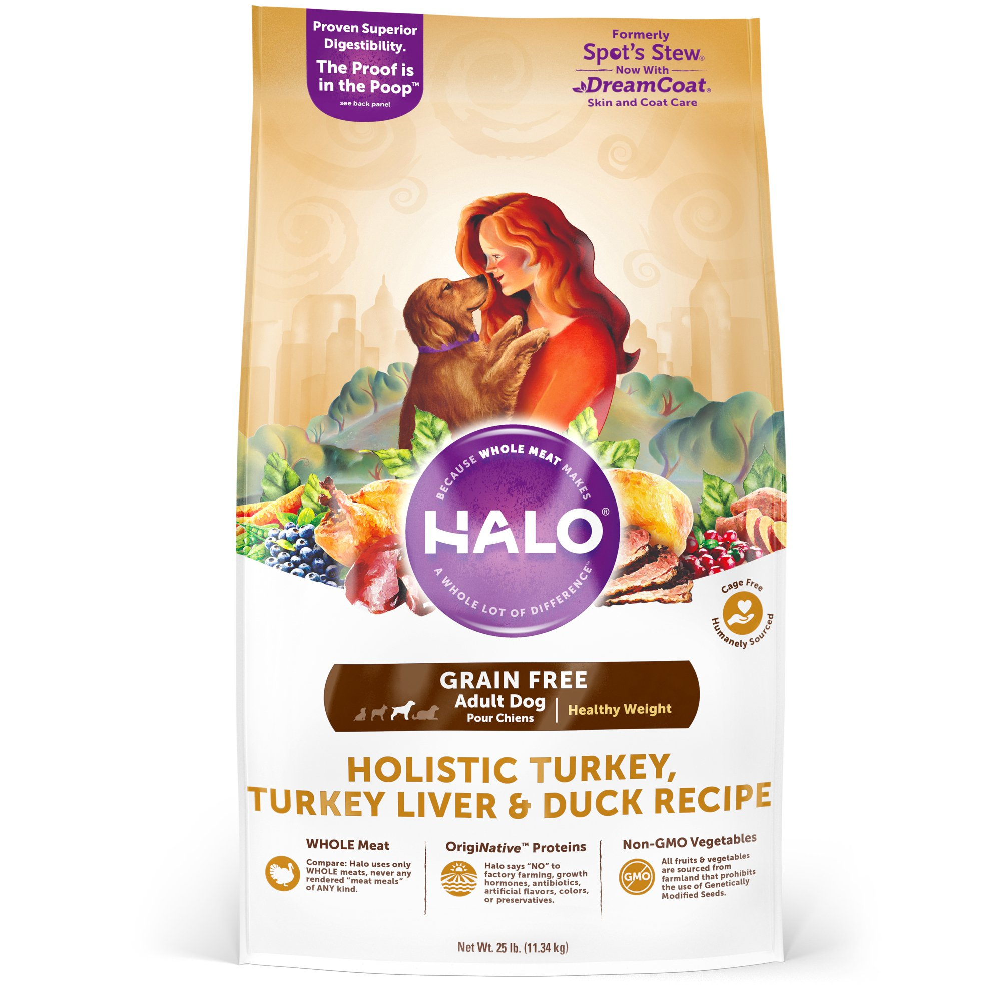Halo grain free healthy weight holistic turkey turkey liver and halo grain free healthy weight holistic turkey turkey liver and duck dry dog food petco nvjuhfo Gallery