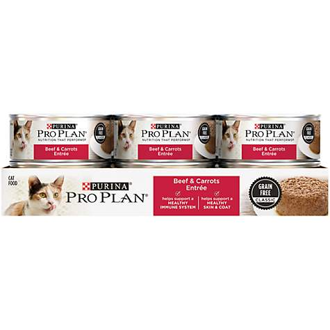 Purina Pro Plan Adult Beef & Carrots Entree Classic Wet Cat Food