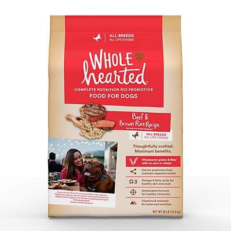 Wholehearted dog food coupons