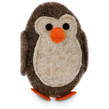 Leaps & Bounds Felt Penguin Cat Toy