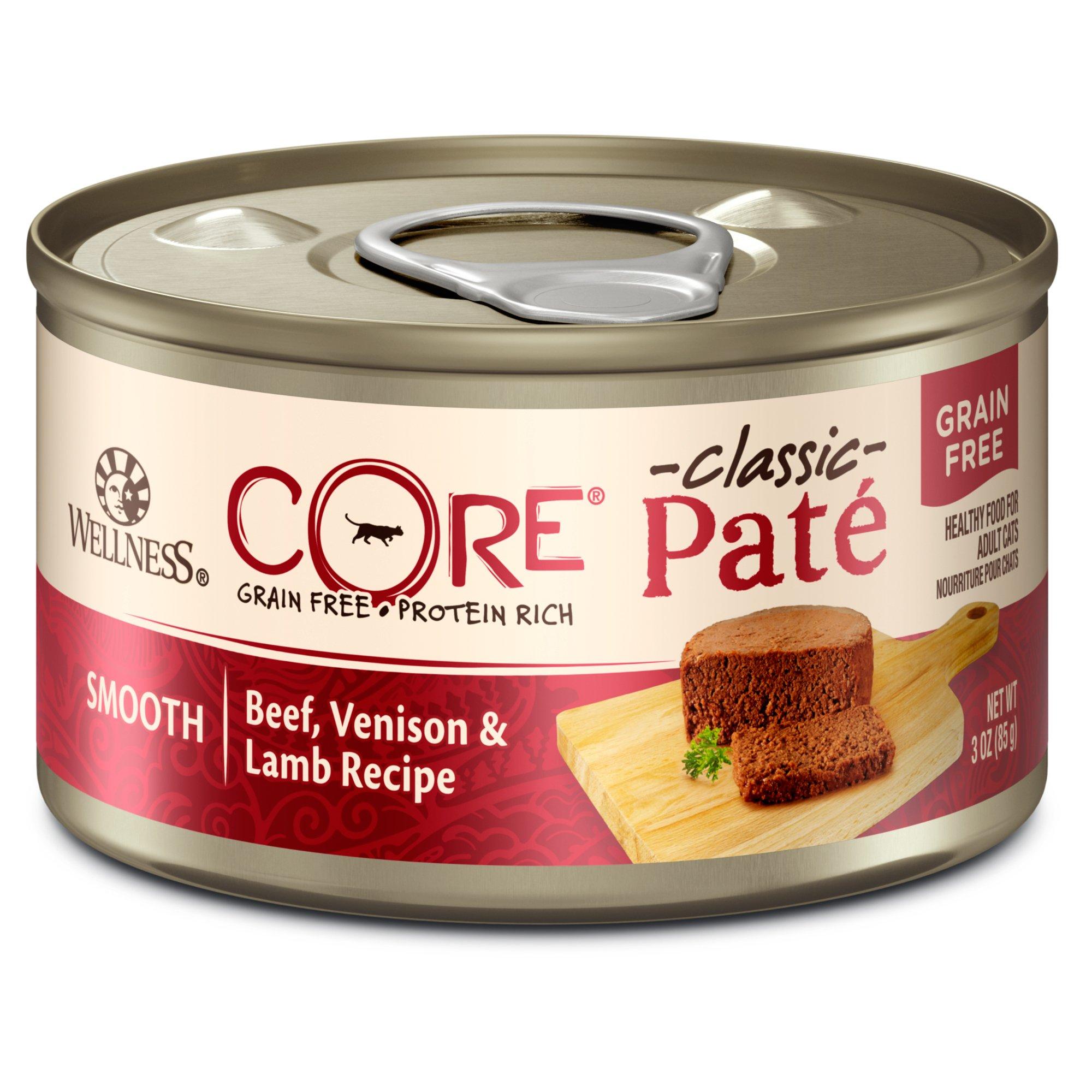 Wellness Core Natural Grain Free Beef Venison Amp Lamb Wet