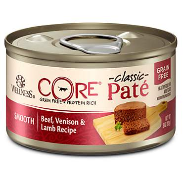 Wellness CORE Natural Grain Free Beef Venison & Lamb Wet Canned Cat Food