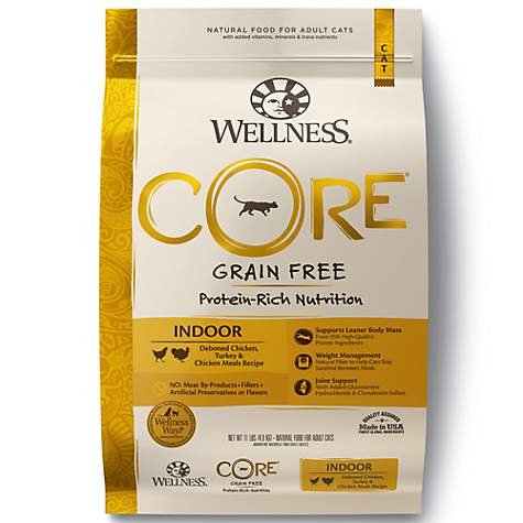 Wellness CORE Natural Grain Free Chicken & Turkey Dry Indoor Cat Food