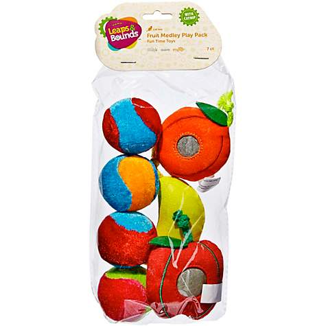 Leaps & Bounds Fruit Cat Toy Variety Pack