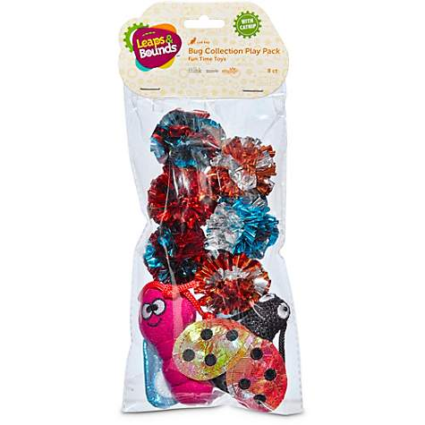 Leaps & Bounds Bug Cat Toy Variety Pack