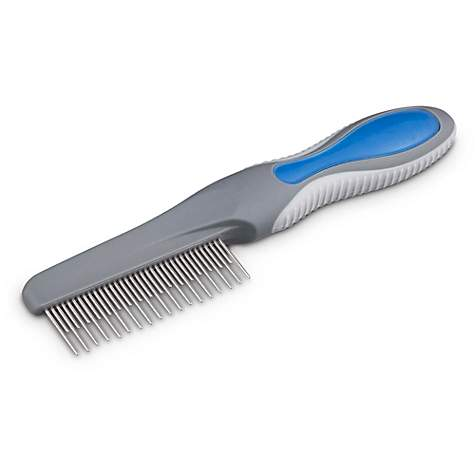Well & Good Blue Undercoat Comb for Dogs