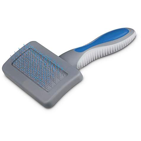 Well & Good Blue Cushion Slicker Cat Brush