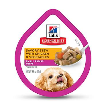 Hill's Science Diet Savory Stew with Chicken Small & Toy Puppy Food