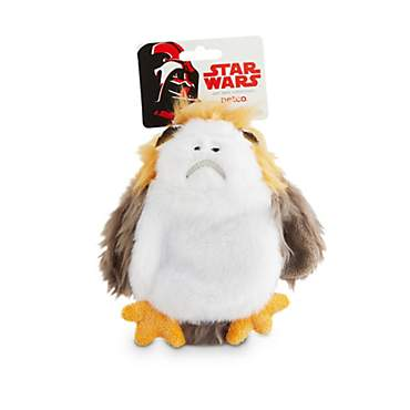 STAR WARS Porg Flattie Dog Toy